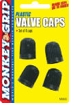 Hopkins Mfg/Bell Automotive 22-5-08830-M Valve Caps, Dome-Type, 4-Pk.