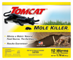 Scotts-Tomcat BL34300 10-Pack Worm-Shaped Mole Killer