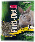 Kaytee Pet 100509721 Forti-Diet Rabbit Food, 5-Lbs.