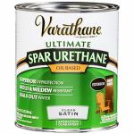 Rust-Oleum 9341H Varathane Qt. Satin Exterior Oil-Based Premium Spar Urethane