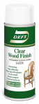 Deft/Ppg Architectural Fin DFT109S/54 Deft 12-oz. Aerosol Clear Satin Waterborne Water-Based Wood Finish