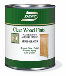 Deft/Ppg Architectural Fin DFT108/04 Deft Qt. Clear Semi-Gloss Water-Based Wood Finish