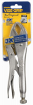Irwin Industrial Tool 4935576 Vise-Grip Curved Jaw Locking Pliers, 10-In.