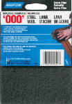 Norton Abrasives-St. Gobain 1727 2PK Gray 000G Steel Wool Pad