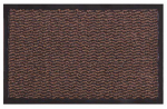 Bacova Guild 27907 Scraper Plus Doormat, Brown, 21 x 36-In.