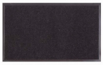 Bacova Guild 27903P8 Masterclean Charcoal Scraper Doormat, 21 x 36-In.