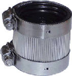 Homewerks Worldwide 522-03-2 No Hub Coupling for No Hub Systems, 2-In.