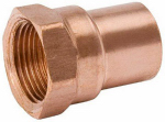 B&K W 61287 2-Inch Copper x Female Adapter
