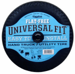 "Arnold 00210 Universal Hand Truck Tire, Flat-Free, 4.10/3.50 - 4"" LP"