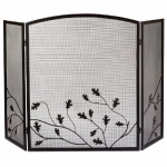 Panacea Products 15914 3-Panel Fireplace Screen