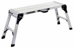 Louisville Ladder L-2242-03 Aluminum Mini Work Platform, Type II, 225-Lb. Duty Rating