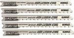 Dewalt Accessories DW3715H U-Shank Scrolling Jigsaw Blade, 5-Pk., 3-In., 12-TPI