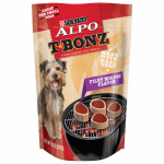 American Distribution & Mfg 42903 Dog Treats, Porterhouse, 10-oz. Pouch