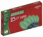 Noma/Inliten-Import 2524G-88 Christmas Lights Set, Green Ceramic, 25-Ct.