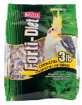 Kaytee Pet 100509802 Forti-Diet Cockatiel Food, 3-Lbs.