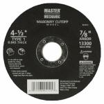 Disston 641672 4.5-Inch Masonry Cutoff Blade