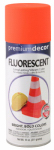 True Value Mfg PDFL1-AER Fluorescent Spray Paint, Interior/Exterior, Blazing Orange, 11-oz.