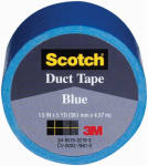 3M 1005-BLU-IP 1-1/2 Inch x 5-Yard Multi-Purpose Blue Duct Tape