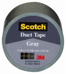 3M 1005-GRY-IP 1.5x5YD Gray Duct Tape