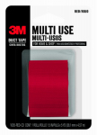 3M 1005-RED-CD 1-1/2 Inch x 5-Yard Multi-Purpose Red Duct Tape