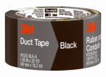 3M 1020-BLK-A 2x20YD Black Duct Tape