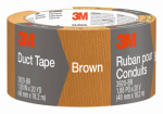 3M 3920-BR Duct Tape, Brown, 1.88-In. x 20-Yd.