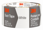 3M 3920-WH Duct Tape, White, 2 x 20-Yd.