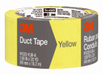 "3M 1020-YLW-A Duct Tape, Yellow, 1.88"" x 20-Yd."