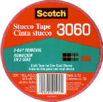 3M 3060-A 2-Inch x 60-Yard Contractor's Stucco Tape