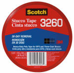 3M 3260-A Heavy-Duty Stucco Duct Tape,  2-In. x 60-Yds.