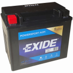 Exide Technologies 12N12A4A1 12-Volt Powersport Motorcycle Battery, 12 AH Capacity