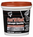 Dap 12140 1/2-Pint Superior Lightweight Formula Spackling