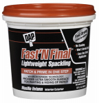 Dap 12142 Qt. Superior Lightweight Formula Spackling