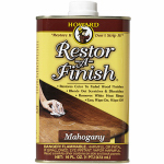 Howard Products RF5016 Restor-A-Finish For Mahogany Finish, 16-oz.