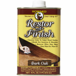 Howard Products RF7016 Restor-A-Finish For Dark Oak Finish, 16-oz.