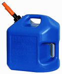 Midwest Can 7600 5-Gallon Blue Kerosene Container