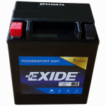 Exide Technologies 12N143A 12-Volt Powersport Motorcycle Battery, 14 AH Capacity