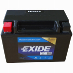 Exide Technologies 12N94B1 12-Volt Powersport Motorcycle Battery, 9 AH Capacity