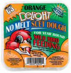 C & S Products 12529 11.75-oz. Orange Delight No-Melt Suet Dough Cake