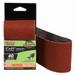 Ali Industries 3148 2-Pack 3 x 21-Inch 40-Grit Bi-Directional Sanding Sheet