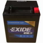 Exide Technologies 14AA2 12-Volt Powersport Battery, 14 AH Capacity
