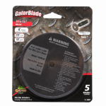 Ali Industries 9427 5-Pk., 4 x 3/32-In. Metal Cut-Off Blade
