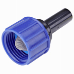 Raindrip R325CT Drip Watering Tubing Adapter, 3/4-In. Hose Thread