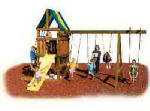 Swing-N-Slide NE 5007 Alpine Swing Set & Yard Gym