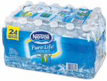 Nestle Water North Amer 12243706 Pure Life Drinking Water, .5 Liter Bottle, 24-Pack