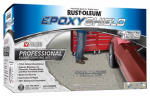 Rust-Oleum 203373 2-Gallon Silver Gray Pro Floor Coating Kit