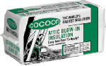 Us Greenfiber INS541LD Blow-In Insulation, Cellulose, 40-Sq. Ft.