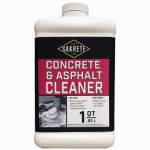 Sakrete Of North America 60455009 Concrete/Asphalt Cleaner, 1-Qt.