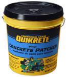 Quikrete Companies 113320 Vinyl Concrete Patcher, Gray, 20-Lb. Pail