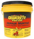 Quikrete Companies 124120 Fast-Set Repair Mortar, 20-Lb. Pail